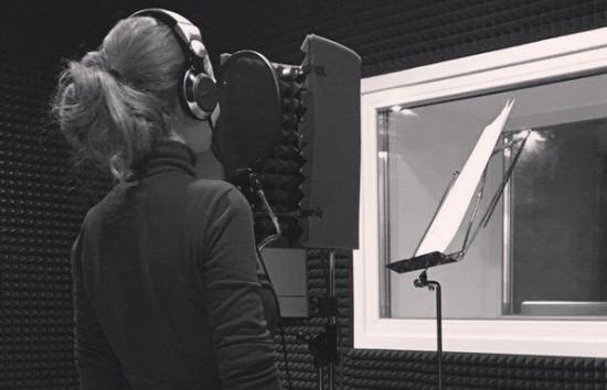 Lena était en studio !