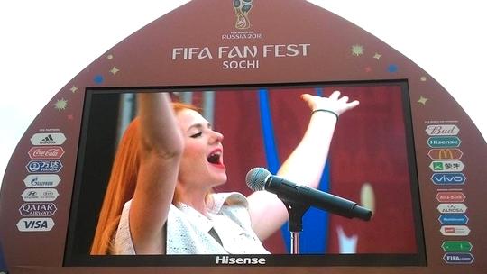 Fifa Fan Fest Sotchi